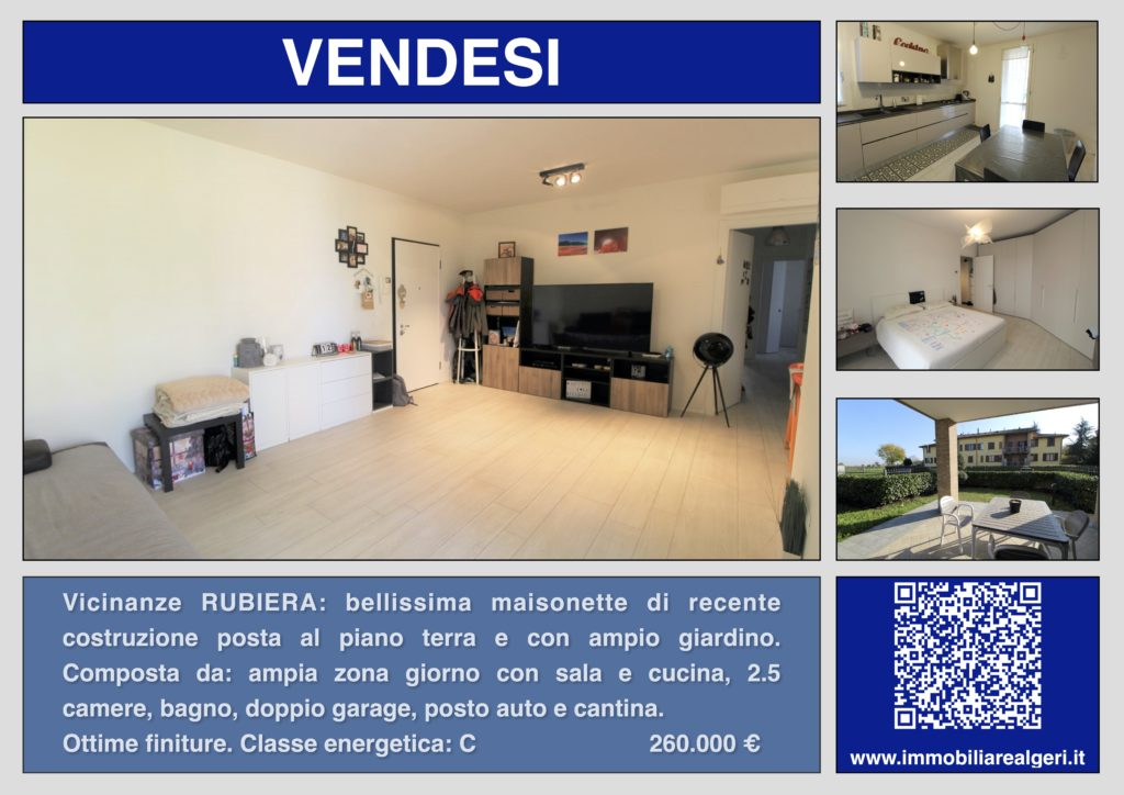 Maisonette in vendita a Corticella (RE)